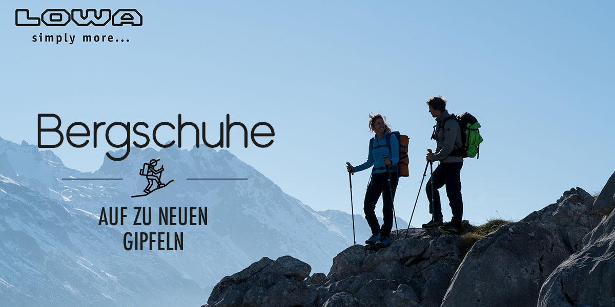 Bergschuhe - High Cut & Low Cut