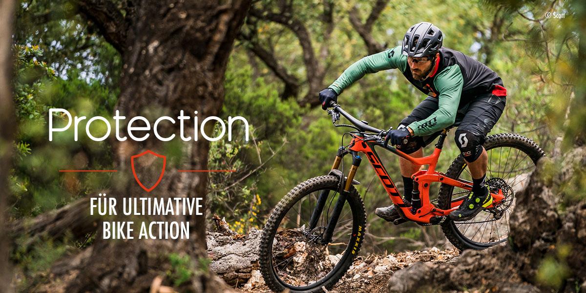 Bike Protection: Helme, Brillen, Protektoren