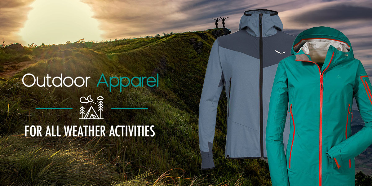 Outdoor Apparel for Ladies and Gentleman