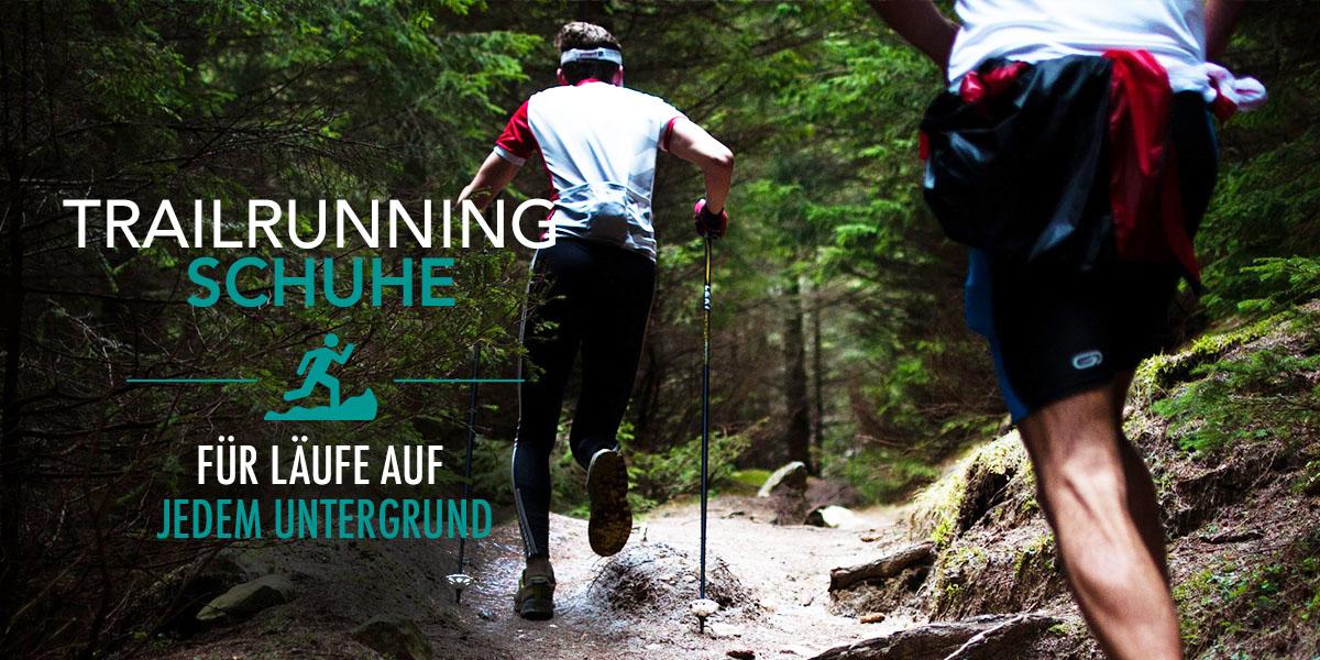 Trailrunning Schuhe für Damen und Herren